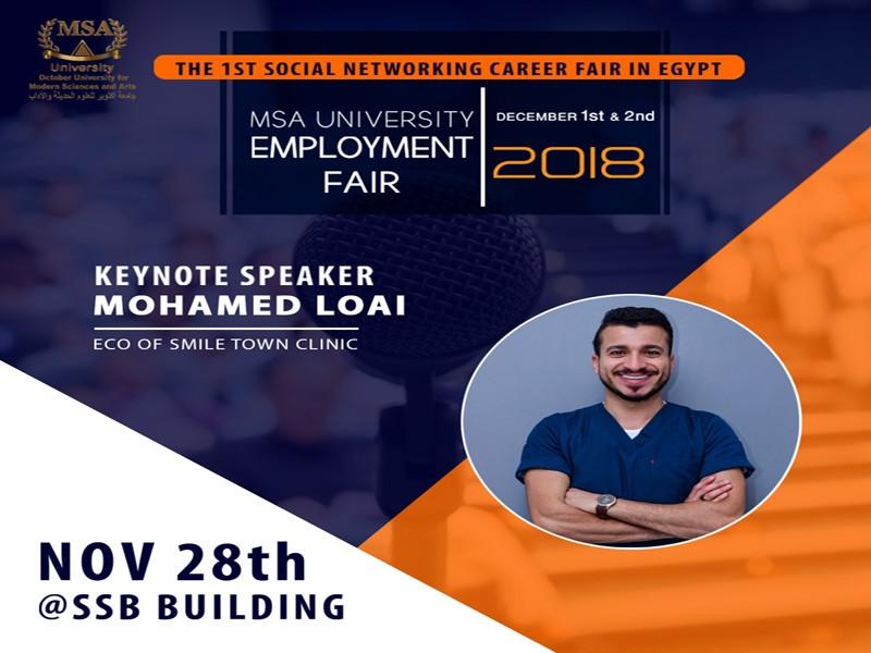 Employment Fair Keynote Guest Speakers