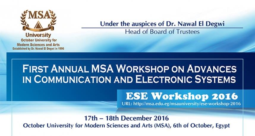 communication and electronic systems workshop
