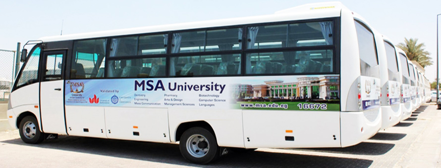 MSA University - Buses Fees