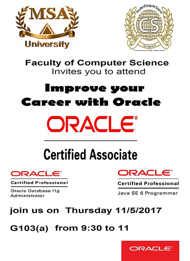 MSA University - Improve your career with ORACLE