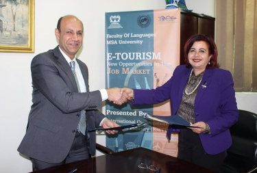 Cooperation Agreement between the Faculty of Languages and International Organization for E-Tourism Industry