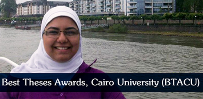 The best Thesis award of Cairo University