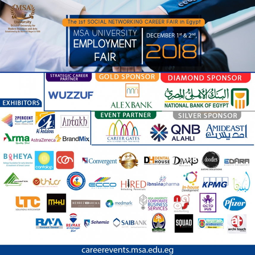MSA Employment Fair 2018