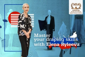 Master Your Draping Skills With Elena Ryleeva