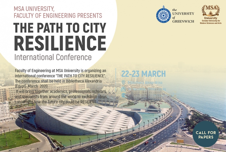 The Path to City Resilience International Conference