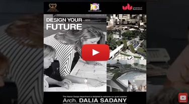 Build your future with Dalia El-Sadany