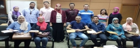 Practical training at Maspero