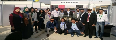 Students of MSA participate in the Cairo International third exhibition for innovation