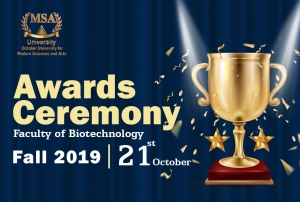 The Faculty of Biotechnology's Awards Ceremony