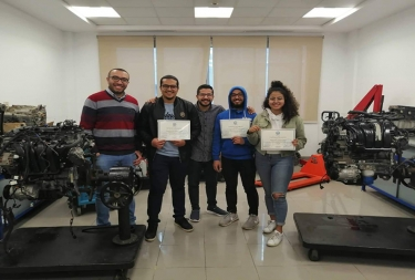 Practical Training in Ghabbour Automotive