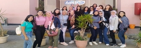 STC 5th Field Trip to Al Nahar TV