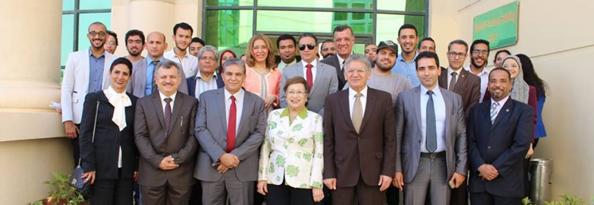 The Egyptian Minister of Environment, Dr. Khaled Fahmy visits MSA University
