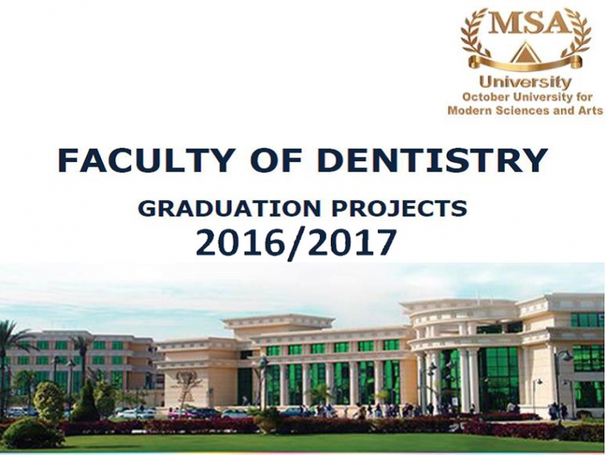 Dentistry Graduation Projects 2016-2017