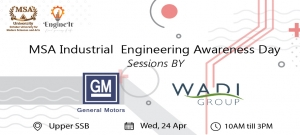 Industrial Engineering Awareness Day