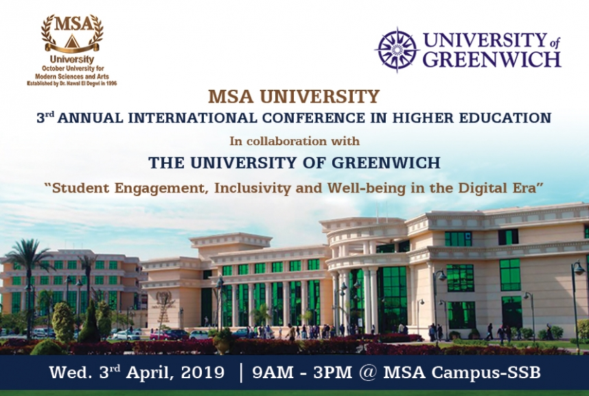 MSA's 3rd Annual International Conference In Higher Education