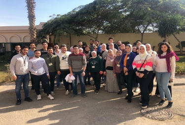 Pharmaceutics field visit to Global Nabi