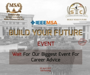Build your future for Engineering (IEEE department)