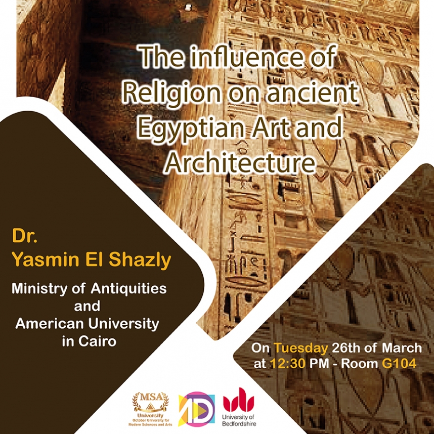 The Influence of Religion on ancient Egyptian Art & Architecture