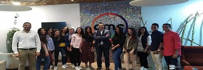 MSAians Visit DMC channels
