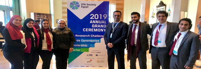 The Success of CFA students in the finals 2019