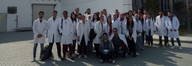 Faculty of Biotechnology Field trip to Dohler Factory