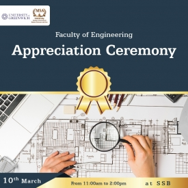 Faculty of Engineering - Appreciation Ceremony