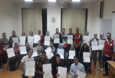 The First aid activities and training