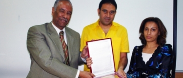 Mass Communication, has hosted on Monday April 26, 2010, Mr. Mostafa Hussien, head of Nile Sports Channel