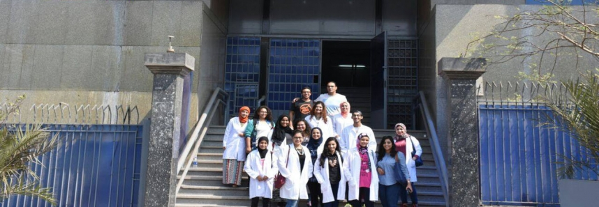Biotechnology students at the Medical jurisprudence Authority